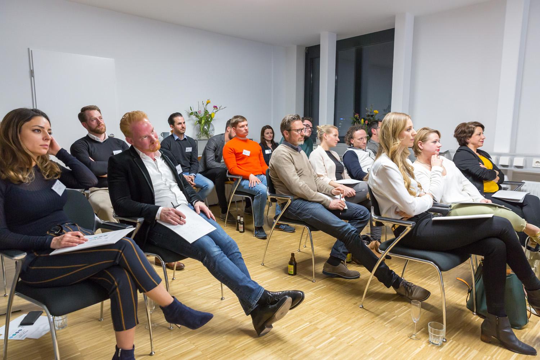 Publikum beim Netzwerktreffen Stuggi Nexxt