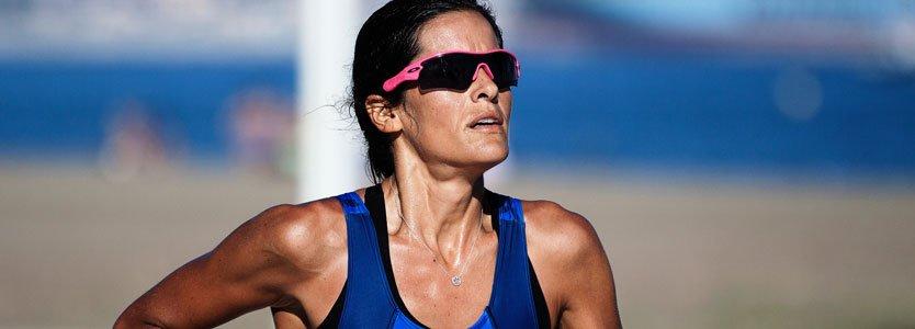 marathon-läuferin