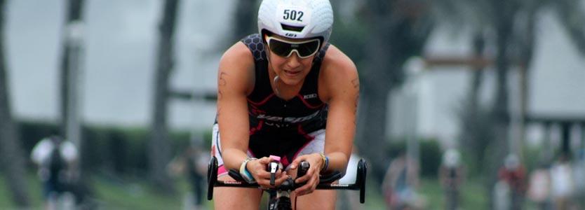Radfahrerin: Die Leistungsdiagnostik ist für alle Ausdauersportler von großem Nutzen
