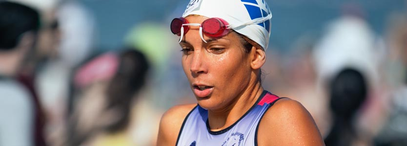 Schwimmerin. Der Spiro Nutzen ist für die Trainingsplanung von Ausdauersportlern nicht zu übertreffen