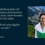 Zitat Katrin W., Absolventin der Cognitive Coaching Ausbildung