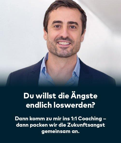 Zukunftsangst loswerden beim Coaching mit Dr. Daniel Holzinger