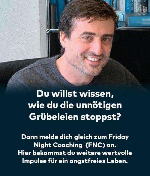 Zukunftsangst überwinden beim Friday Night Coaching