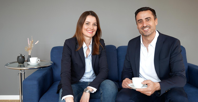 Daniel Holzinger und Katrin Holzinger