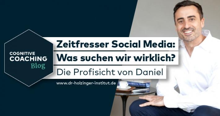 Zeitfresser Social Media – Was suchen wir wirklich?